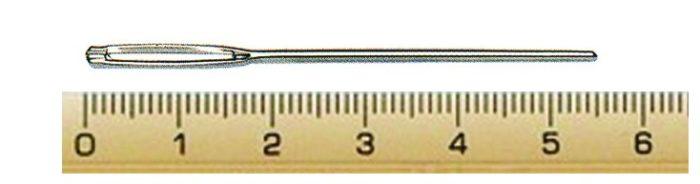 PONY 05104 Игли за гоблен, заоблен връх, N16