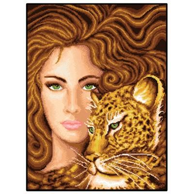20070405 Жена с леопард