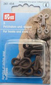 PRYM 261454 Копчета за кожени палта