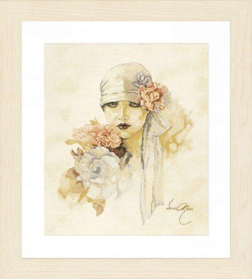 Lanarte 0007972 (34430) / Дама с рози
