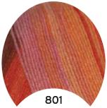 МТ Мерино голд батик 100 г, цв. 801