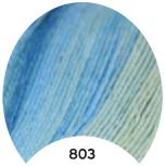 МТ Мерино голд батик 100 г, цв. 803