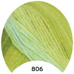 МТ Мерино голд батик 100 г, цв. 806