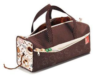 PRYM 612279 Чанта за ръкоделие кафе
