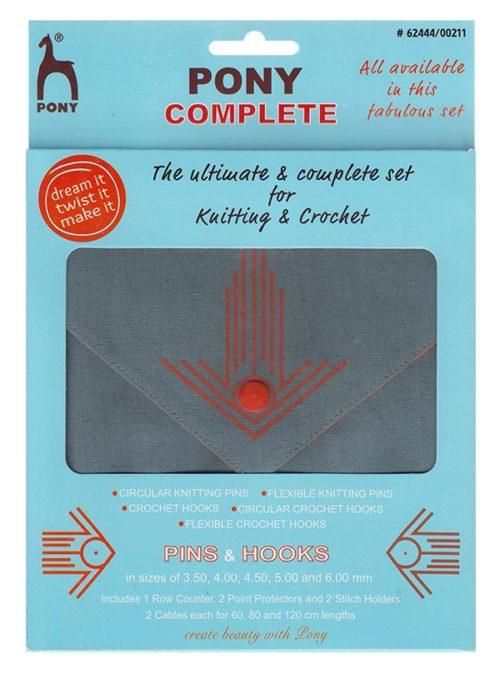 PONY 62444/00211 Комплект игли и куки