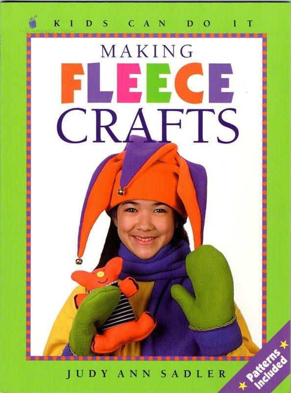 Making-fleece-crafts